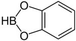 Catecholborane structure.png
