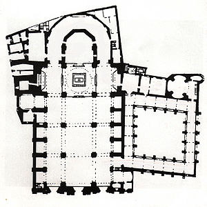 Vic Cathedral - Ground Plan