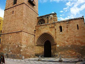 Orihuela Cathedral - Main façade.
