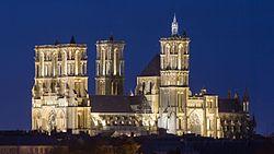 La cathédrale Notre-Dame.