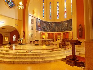 Cathedral of Saint Mary (Miami) - Altar area