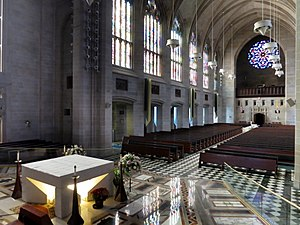 Cathedral of the Most Blessed Sacrament - Interior of the cathedral