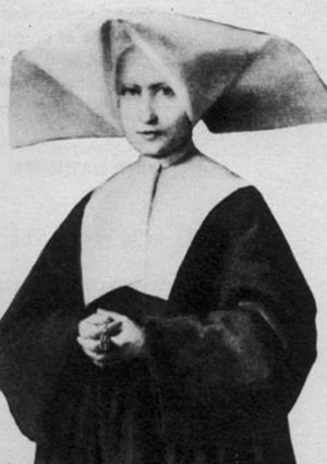 Catherine Labouré - Portrait of Sister Catherine at the time of the apparitions.