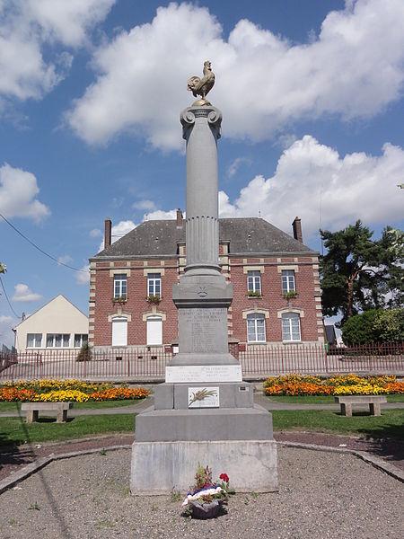 Caumont (Aisne) monument aux morts
