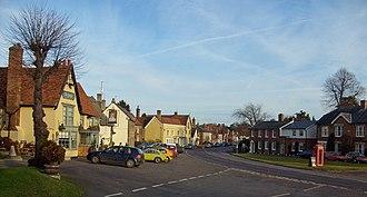 Cavendish, Suffolk - Image: Cavendish High Street
