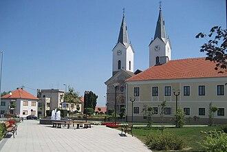 D26 road (Croatia) - Čazma, on the D26 road route