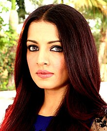 Celina Jaitly at the promotion event (cropped).jpg