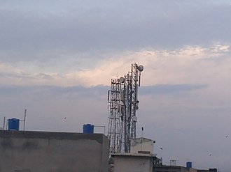 Cell site - Mobile phone towers in Jalalpur Jattan, Pakistan