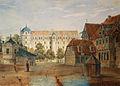 Celle Stechbahn u Schloss Wiegmann (1835).jpg