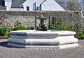 Central fountain, The Physic Garden - Cowbridge - geograph.org.uk - 1263586.jpg