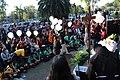 Ceremonia conmemorativa 30 años de los Sismos de 1985 Reloj de Sol, Tlatelolco. 07.JPG