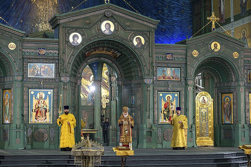 Ceremony of consecration of the Main temple 14.jpg