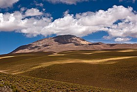 Cerro Toco lies at the northern end of the purico complex chile ii region.jpg