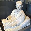 Cerveteri, coperchio di sarcofago con effige del defunto, 100 ac ca. 02.JPG