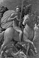 Cesare Rossetti - Saint George and the Dragon - Walters 371769.jpg