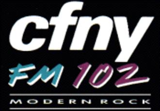CFNY-FM - Transition to modern rock
