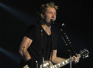 Chad Kroeger Canadian vocalist and rock musician