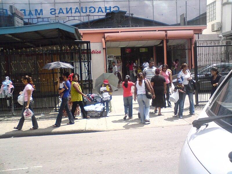 File:Chaguanas mainroad.jpg