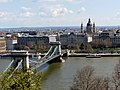 Chain Bridge from Savoyai terrace, 2013 Budapest (182) (13228925763).jpg