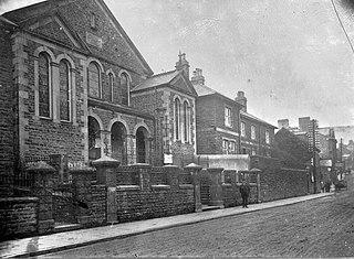 Chapel and street scene