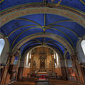 Chapel of Our Lady of Pouey-Laun, the nave and choir..jpg