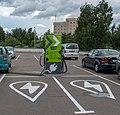 Charging station EV (Minsk, Belarus) — Станция зарядки электромобилей (Минск, Беларусь) 1.jpg
