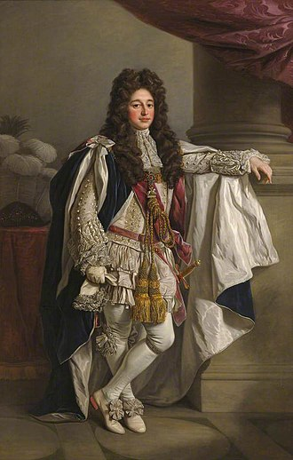 Charles Seymour, 6th Duke of Somerset - Charles Seymour, 6th Duke of Somerset, portrait by Nathaniel Dance-Holland (1735–1811) (presumably a copy, artist aged 13 at sitter's death), collection of Trinity College, Cambridge. He was Chancellor of the University of Cambridge 1689–1748