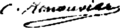 Charles Renouvier signature.png