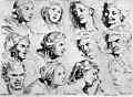 Charles le Brun, The Expressions.jpg