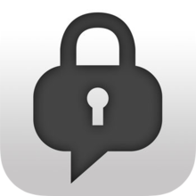 ChatSecure logo, full.