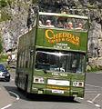 Cheddar Gorge Tour bus (A860 SUL), 1983 Leyland Titan B15 (T860), 31 August 2010.jpg