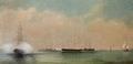 Chegada ao Tejo da armada italiana com a Rainha Dona Maria Pia - Luís Tomasini.png