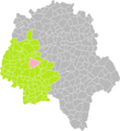Cheillé (Indre-et-Loire) dans son Arrondissement.png