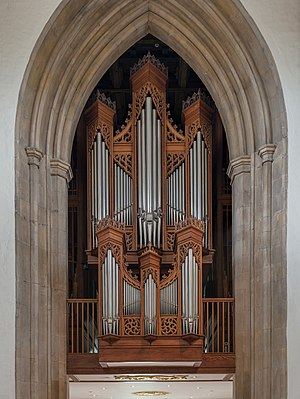 Chelmsford Cathedral - The organ