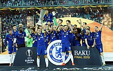 Chelsea won UEFA Europa League final at Olympic Stadium and President Ilham Aliyev watched the final match 23.JPG