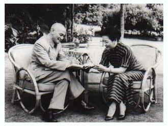 Soong Mei-ling - Soong Mei-ling and Chiang Kai-shek in Taipei, Taiwan