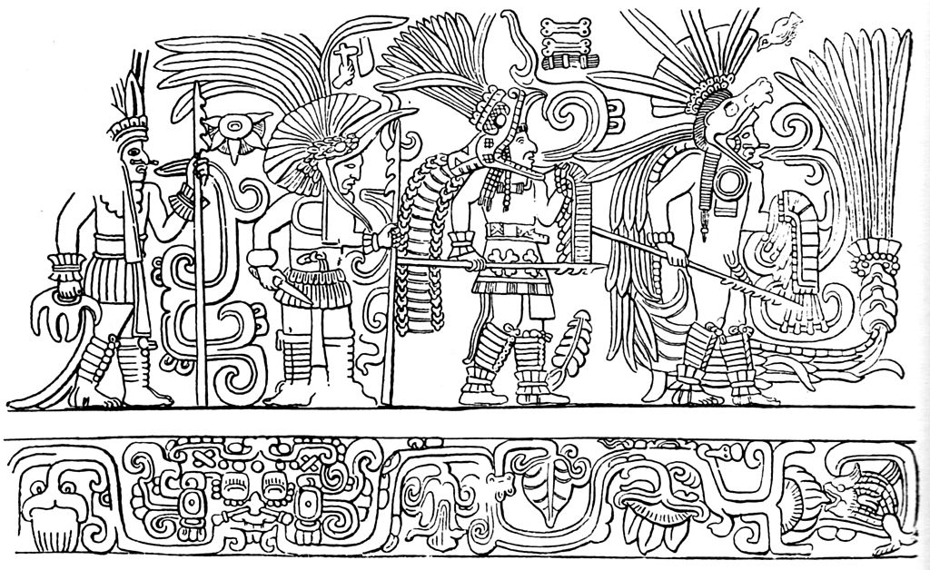 Image Result For Mayan Mask Coloring