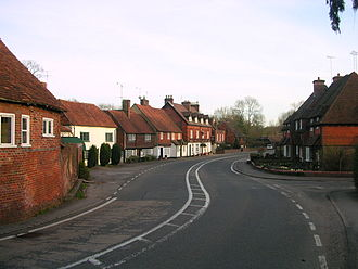 Chiddingfold - The main street.