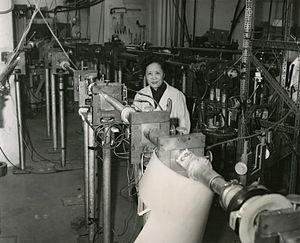 Chien-Shiung Wu - Chien-Shiung Wu in 1963 at Columbia University