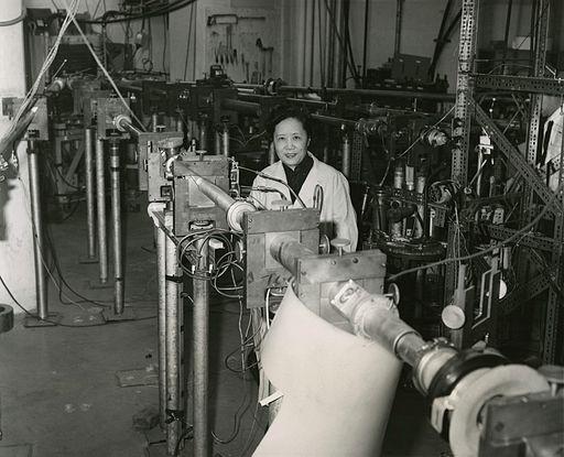 Chien-Shiung Wu (1912-1997) in 1963 - Restoration