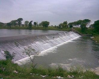 Shajapur - Image: Chillar Dam