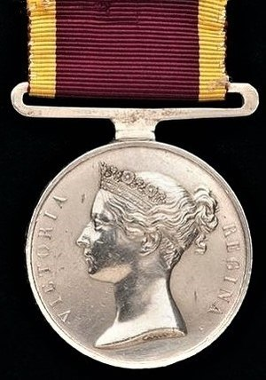 China War Medal (1842) - Image: China Medal 1842 (Obverse)