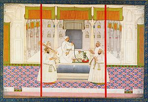 Muhammad Shah - The imperial Diwan of the Mughal Emperor Muhammad Shah