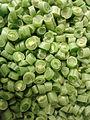 Chopped Green beans (family of Phaseolus) at Nizampet 02.jpg