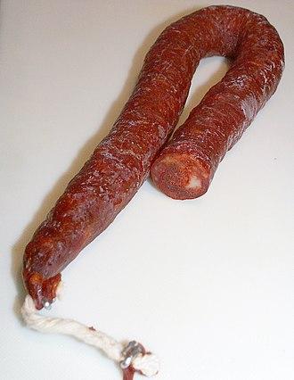 Chorizo - Spanish chorizo