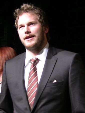 Pratt at the premiere of Parks and Recreation in April 2009 Chris Pratt 2009.jpg