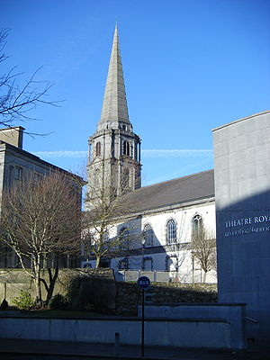 Christ Church Cathedral, Waterford - Image: Christ Church Cathedral Waterford from The Mall