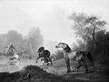 Christian David Gebauer - Vilde heste i et stutteri - KMS1245 - Statens Museum for Kunst.jpg