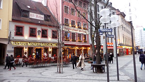 English: Christmas Day Munich Germany