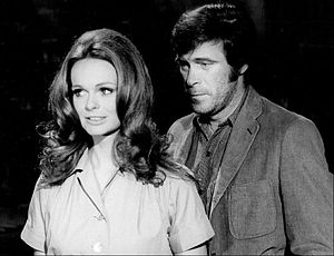 Christopher George - Christopher George and Lynda Day George on Mission: Impossible in 1971.